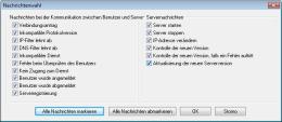Senden der Postnachrichten. RAC – Remote Desktop, Fernwartung, Fernzugriff und Remote Support.