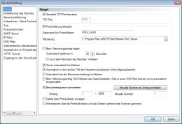 Servereinstellung. RAC – Remote Desktop, Fernwartung, Fernzugriff und Remote Support.