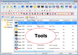 Tools. RAC - Remote Desktop, Remote Access, Remote Support, Service Desk, Remote Administration.