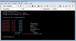 Command prompt. RAC - Remote Desktop, Remote Access, Remote Support, Service Desk, Remote Administration.
