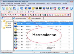 Herramientas. RAC - Software para el control remoto del PC y de la administración alejada.