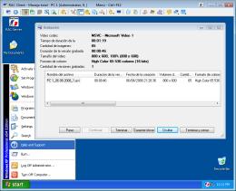 Grabación alejada del ordenador con el sistema operacional Windows®. RAC - Software para el control remoto del PC y de la administración alejada.